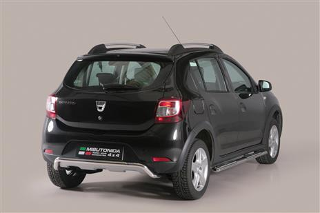 well known detailing on feet images of PP1347IX - PARE CHOC ARRIERE INOX Ø 50 DACIA SANDERO STEPWAY ...